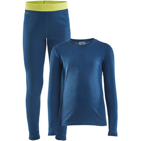 Kids' functional set - Craft WARM BASELAYER SET J CORE