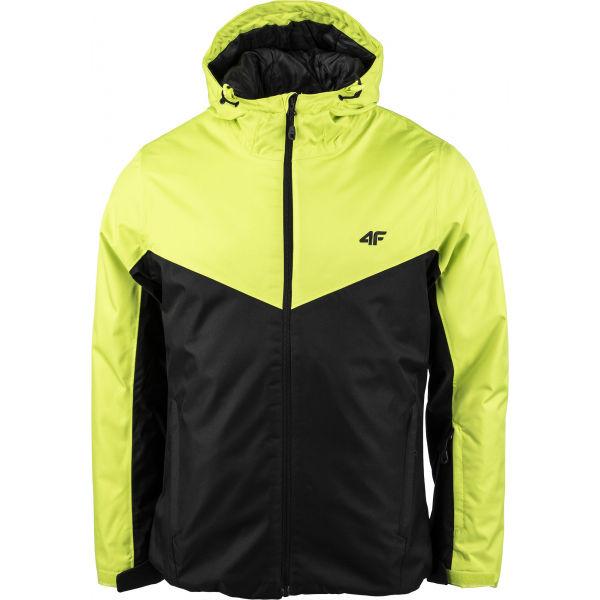 4F MEN´S SKI JACKET zelená S - Pánská lyžařská bunda