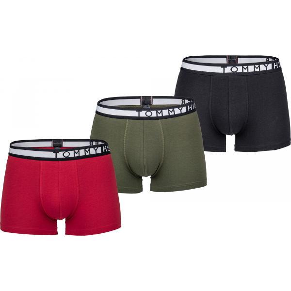 Tommy Hilfiger 3P TRUNK  S - Pánské boxerky