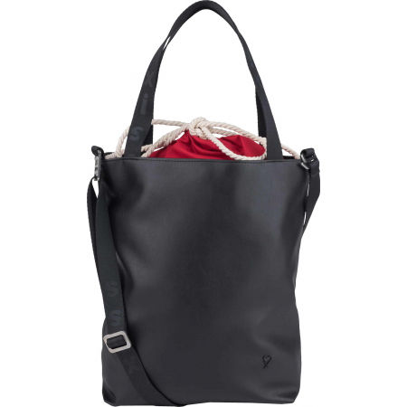 XISS KABELKA S PYTLEM - Women's handbag with inner backpack