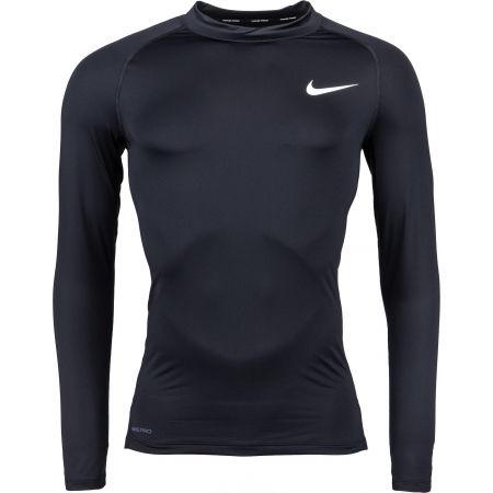 Nike NP TOP LS TIGHT MOCK M - Koszulka męska z długim rękawem