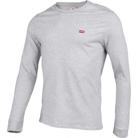 Pánske tričko s dlhým rukávom - Levi's LS ORIGINAL HM TEE - 2