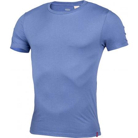Мъжка тениска - Levi's SLIM 2PK CREWNECK 1 - 3