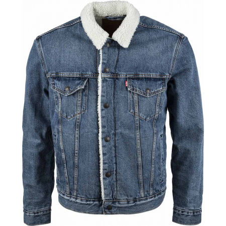 Levi's TYPE 3 SHERPA TRUCKER CORE - Men's denim jacket