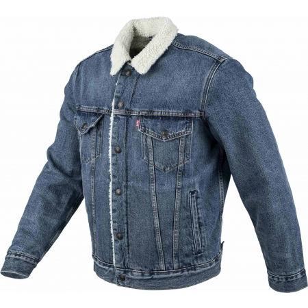 Pánska džínsová bunda - Levi's TYPE 3 SHERPA TRUCKER CORE - 2