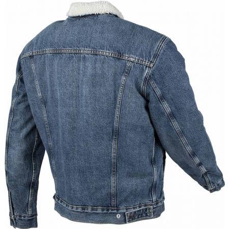 Pánska džínsová bunda - Levi's TYPE 3 SHERPA TRUCKER CORE - 3