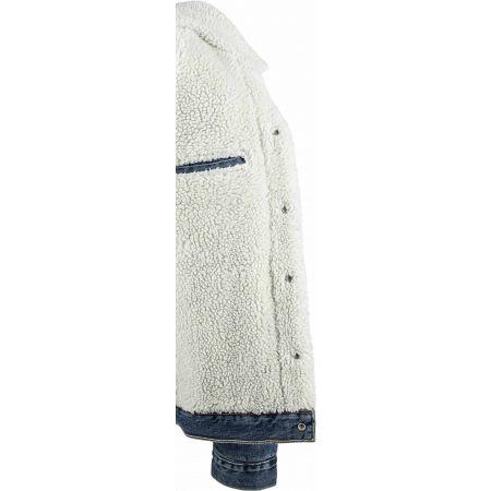 Pánska džínsová bunda - Levi's TYPE 3 SHERPA TRUCKER CORE - 4