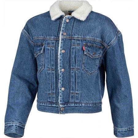 Women's denim jacket - Levi's NEW HERITAGE SHERPA - 2