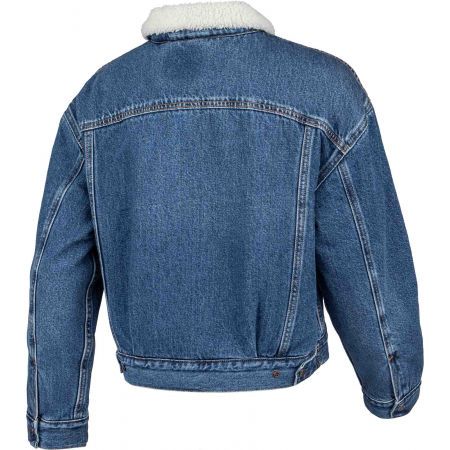 Women's denim jacket - Levi's NEW HERITAGE SHERPA - 3