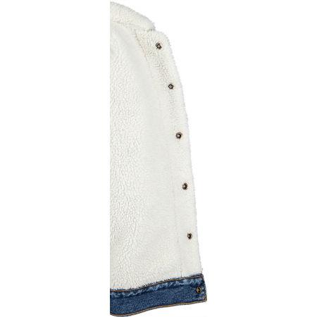 Women's denim jacket - Levi's NEW HERITAGE SHERPA - 4