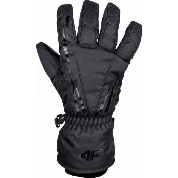 4F SKI GLOVES černá L - Lyžařské rukavice