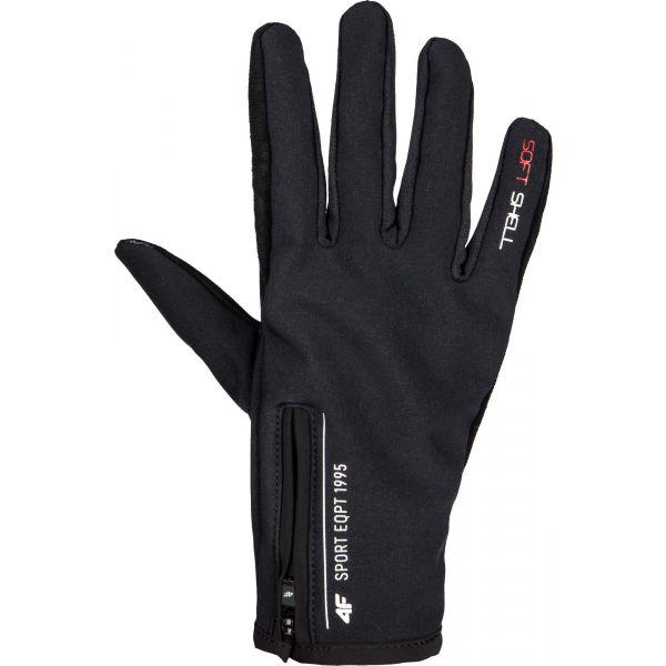 4F GLOVES  L - Softshellové rukavice
