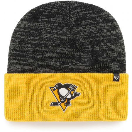 47 NHL PITTSBURGH PENGUINS TWO TONE BRAIN FREEZE '47 CUFF KNIT