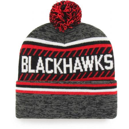 Winter beanie - 47 NHL CHICAGO BLACKHAWKS ICE CAP '47 CUFF KNIT GRY - 2
