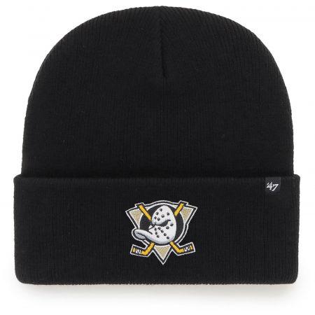 47 NHL ANAHEIM DUCKS HAYMAKER '47 CUFF KNIT BLK - Зимна шапка