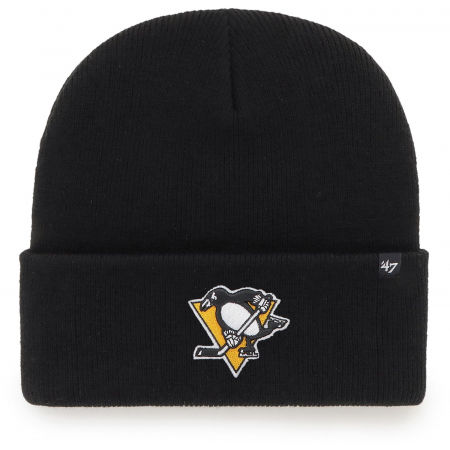 47 NHL PITTSBURGH PENGUINS HAYMAKER '47 CUFF KNIT BLK
