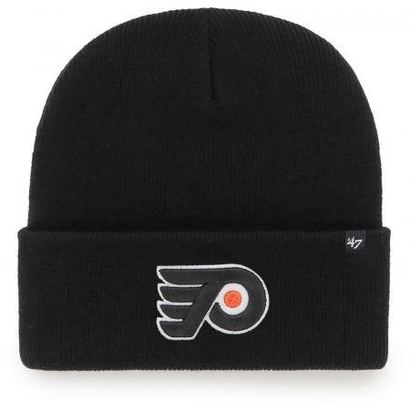 47 NHL PHILADELPHIA FLYERS HAYMAKER '47 CUFF KNIT BLK - Зимна шапка
