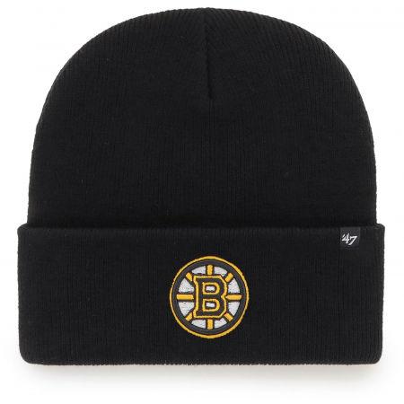 47 NHL BOSTON BRUINS HAYMAKER '47 CUFF KNIT BLK - Czapka zimowa