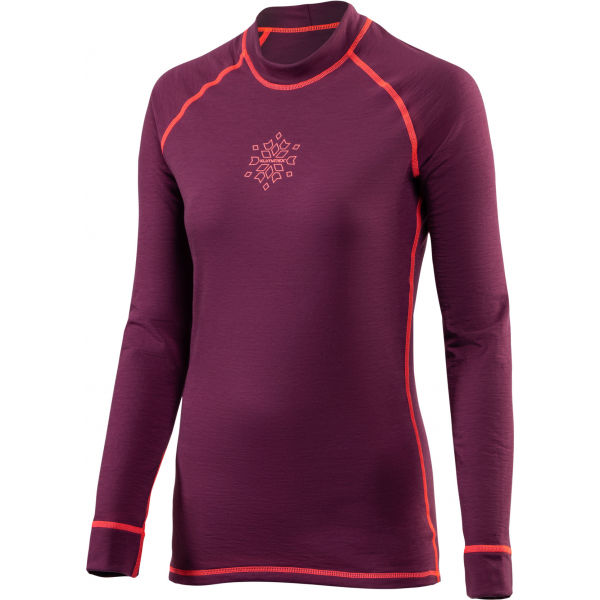 Klimatex JANNE vínová XL - Dámske funkčné tričko