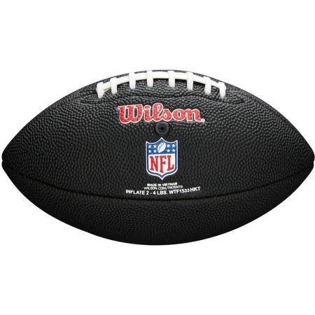Mini míč - Wilson MINI NFL TEAM SOFT TOUCH FB BL CL - 2