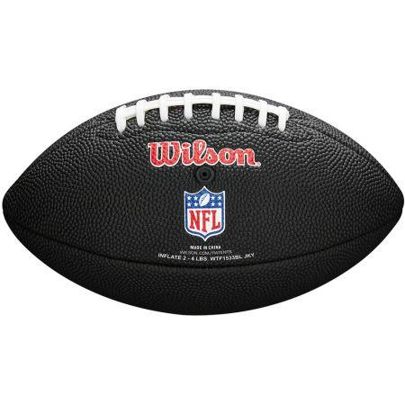 Mini míč - Wilson MINI NFL TEAM SOFT TOUCH FB BL TB - 3