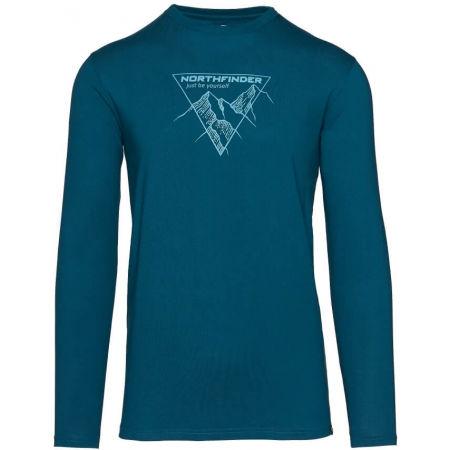 Northfinder VANPY - Férfi pamut póló nyomott mintával