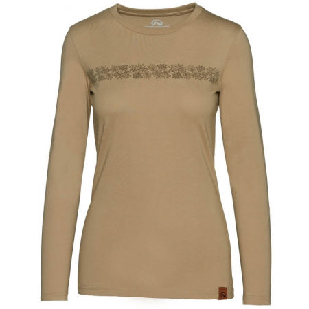Women's long sleeve T-shirt - Northfinder ORGESA