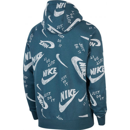 Pánská mikina - Nike NSW CLUB HOODIE PO BB AOP 1 M - 2
