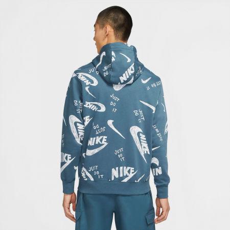 Pánská mikina - Nike NSW CLUB HOODIE PO BB AOP 1 M - 4