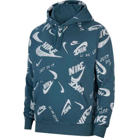 Pánská mikina - Nike NSW CLUB HOODIE PO BB AOP 1 M - 1
