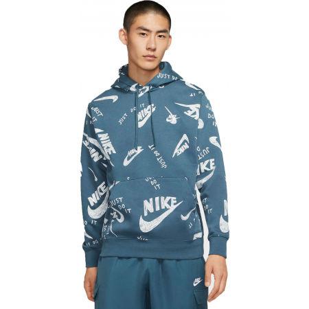 Pánská mikina - Nike NSW CLUB HOODIE PO BB AOP 1 M - 3