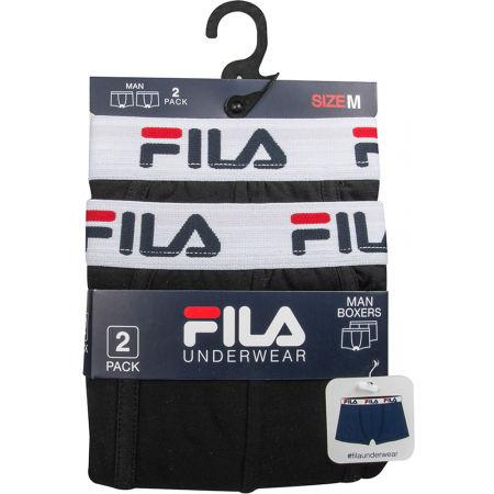 Men's boxer briefs - Fila MAN BOXERS 2 PACK - 2