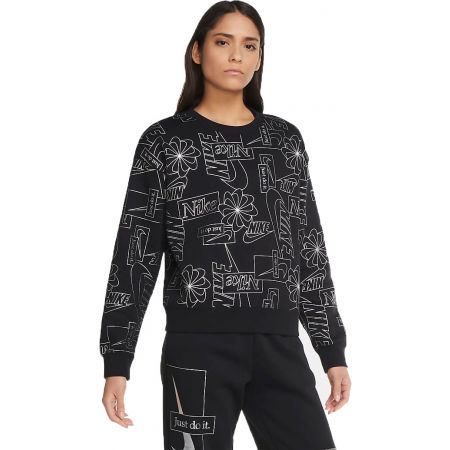 Nike NSW ICN CLSH FLC AOP TOP W - Women's sweatshirt