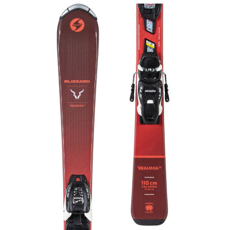 Blizzard BRAHMA JR +  FDT JR 4.5 - Junior downhill skis