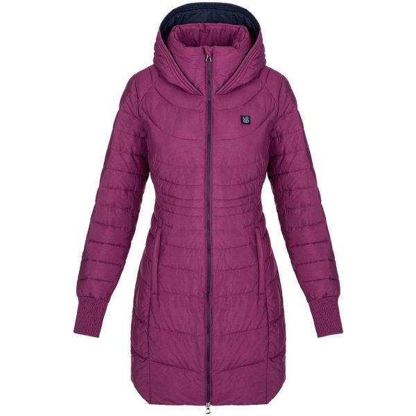 Loap JEKIE růžová M - Dámský zimní kabát