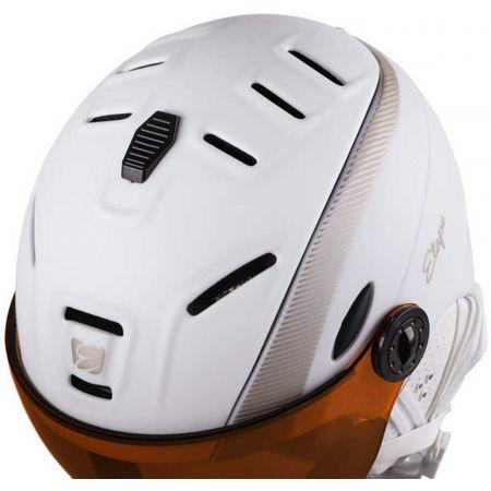 Women's ski helmet with visor - Etape GRACE PRO - 4