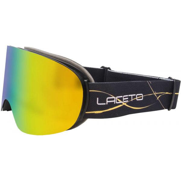 Laceto FLAKE čierna NS - Detské lyžiarske okuliare