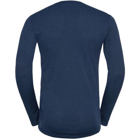 Men's functional T-shirt - Odlo BL TOP CREW NECK L/S ACTIVE THERMIC - 2