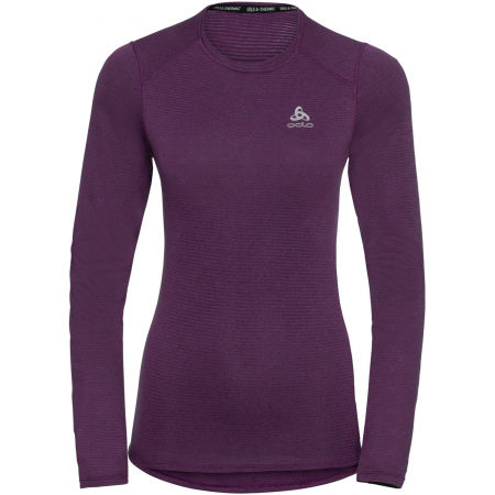 Odlo BL TOP CREW NECK L/S ACTIVE THERMIC - Women's functional T-shirt
