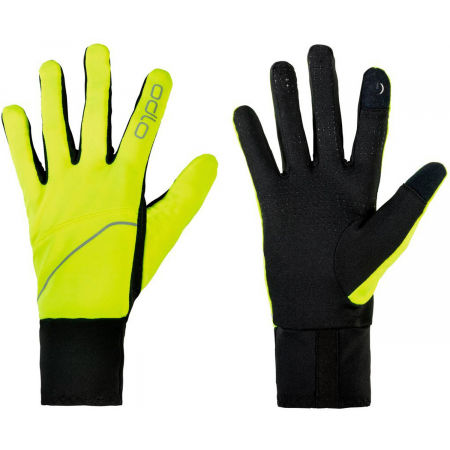Odlo GLOVES INTENSITY SAFETY LIGHT - Rękawice