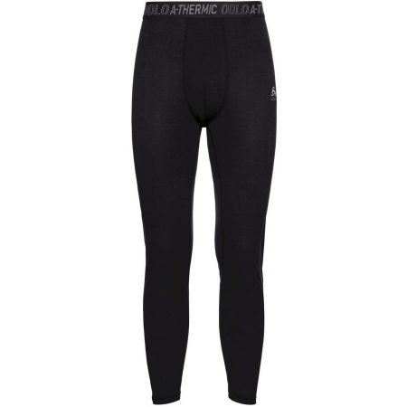 Men's functional pants - Odlo BL BOTTOM LONG ACTIVE THERMIC - 1