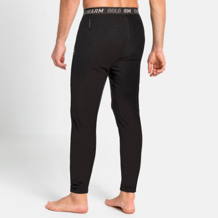 Men's functional pants - Odlo BL BOTTOM LONG ACTIVE THERMIC - 3