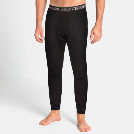 Men's functional pants - Odlo BL BOTTOM LONG ACTIVE THERMIC - 4