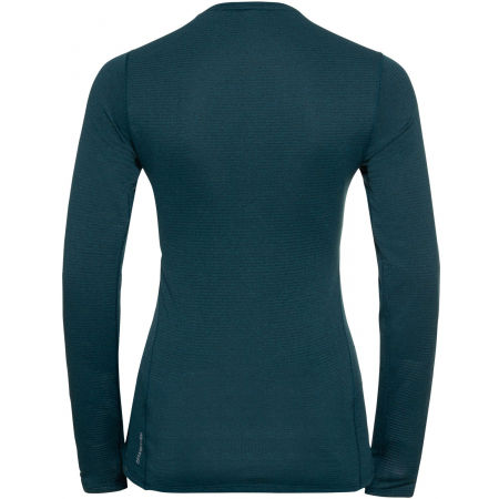Women's functional T-shirt - Odlo BL TOP CREW NECK L/S ACTIVE THERMIC - 2