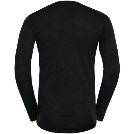 Men's functional T-shirt - Odlo BL TOP CREW NECK L/S ACTIVE THERMIC - 2