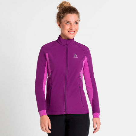 Women's cross-country skiing jacket - Odlo JACKET AEOLUS - 4