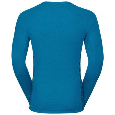 Men's functional T-shirt - Odlo L/S CREW NECK GOD JUL PRINT - 2