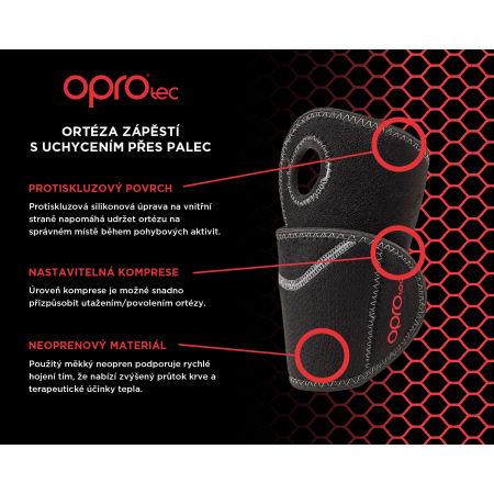Wrist brace - Opro OPROtec ORTÉZA NA ZÁPĚSTÍ - 4