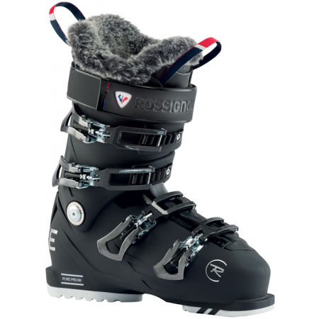 Rossignol PURE PRO 80 SOFT BLACK - Clăpari schi damă