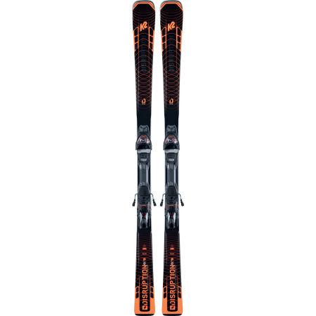 Men's allmountain skis with binding - K2 DISRUPTION STi + MXC 12 TCx LIGHT Q - 2